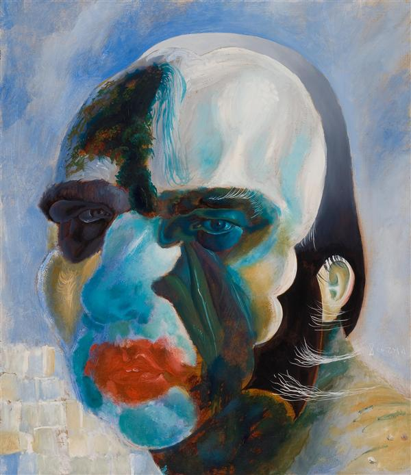 Philip Akkerman - Self-portrait 2008 no.147