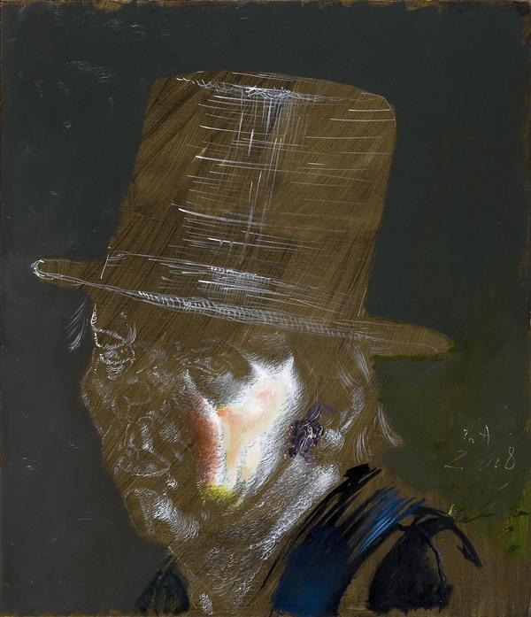 Philip Akkerman - Self-portrait 2008 no.6
