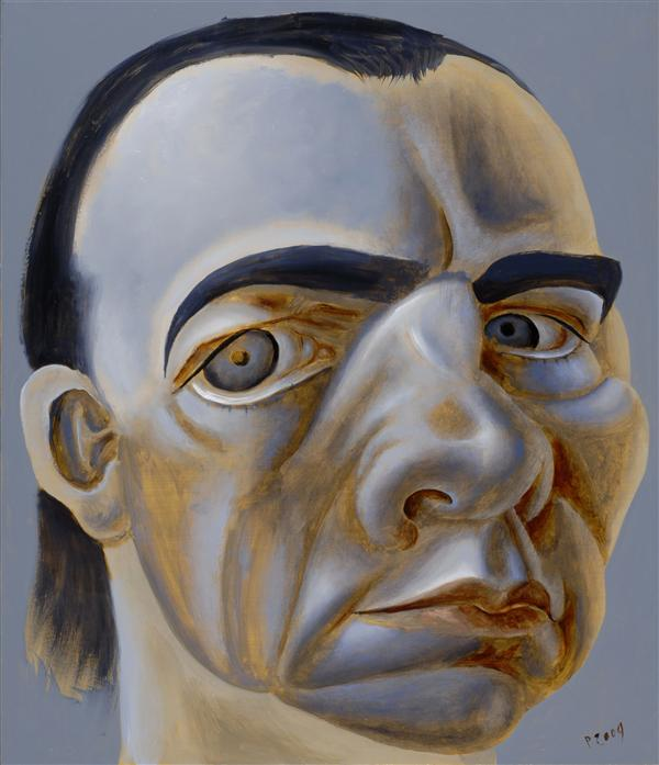 Philip Akkerman - Self-portrait 2009 no.73