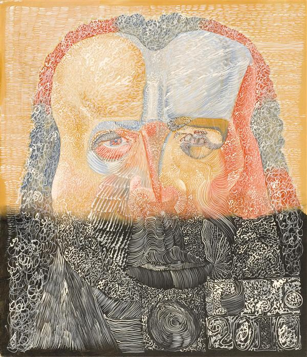 Philip Akkerman - Self-portrait 2010 no.21