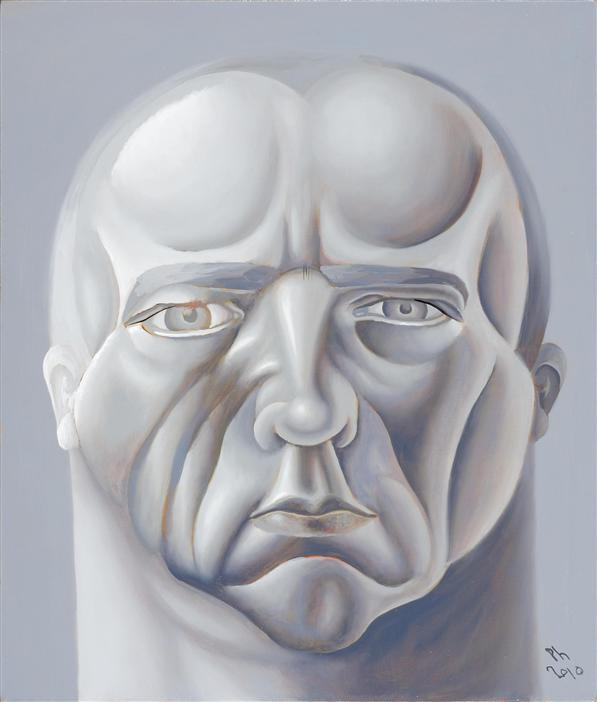 Philip Akkerman - Self-portrait 2010 no.38