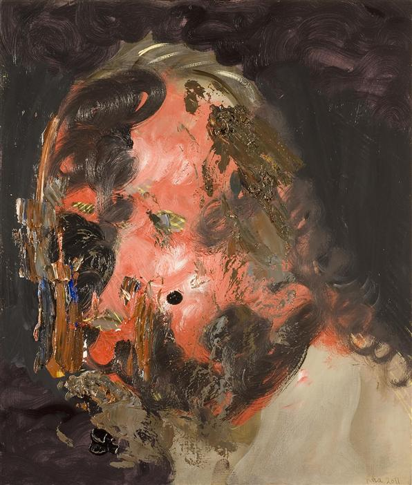 Philip Akkerman - Self-portrait 2011 no.102