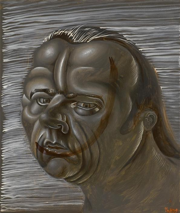 Philip Akkerman - Self-portrait 2011 no.38