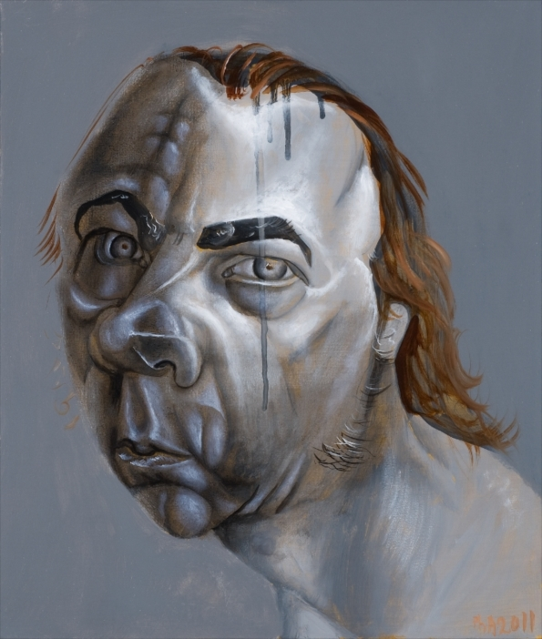 Philip Akkerman - Self-portrait 2011 no.84