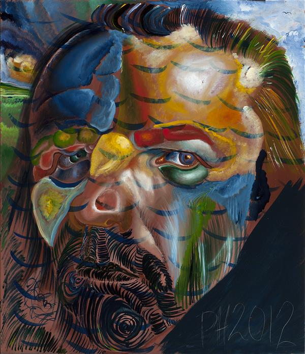 Philip Akkerman - Self-portrait 2012 no.139