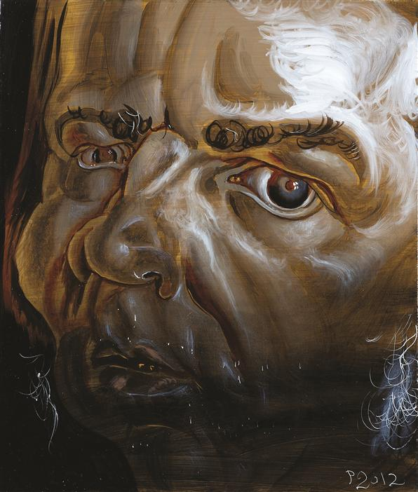 Philip Akkerman - Self-portrait 2012 no.95