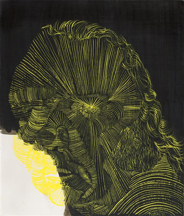Philip Akkerman - Self-portrait 2013 no.64