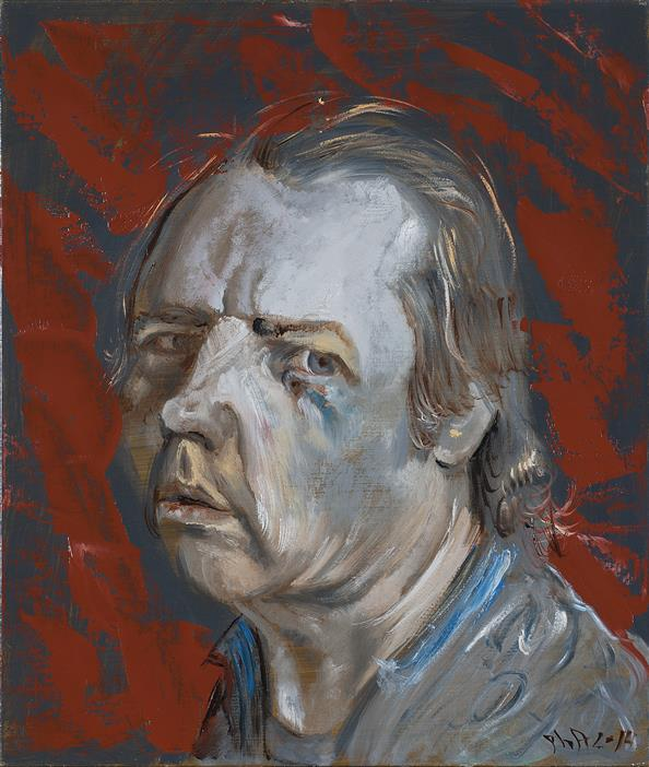 Philip Akkerman - Self-portrait 2014 no.138