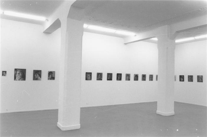 Philip Akkerman - Galerie Johnen & Schöttle, Cologne 1992